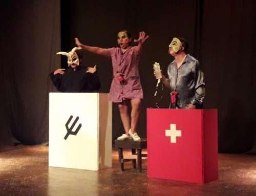 La Rosa Teatro presenta función en Perico