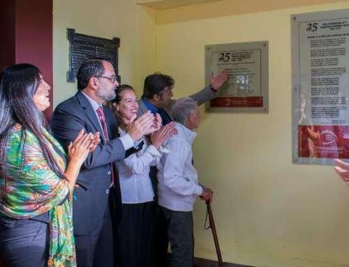 La Escuela Municipal «Marina Vilte» cumplió sus Bodas de Plata