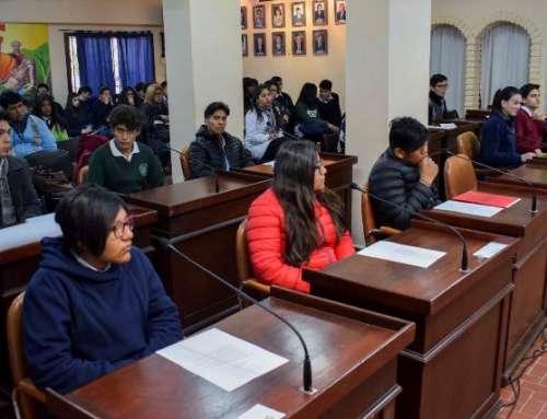 Sesionó el Concejo Deliberante Estudiantil