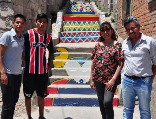Murales participativos en El Chingo