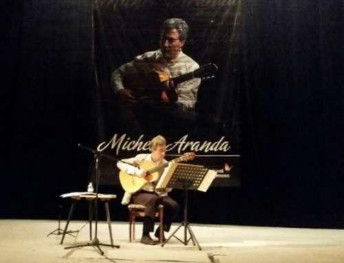 """24° edición del """"Festival Guitarras del Mundo"""" con Michel Aranda de España"""