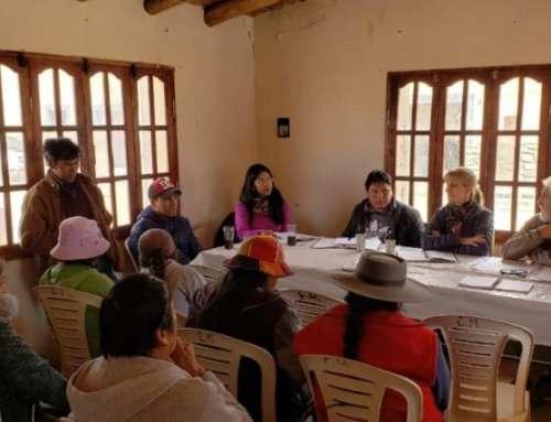 Capacitación arqueológica a comunidades aborígenes