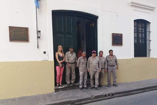 Nueva puerta réplica en el Museo Lavalle